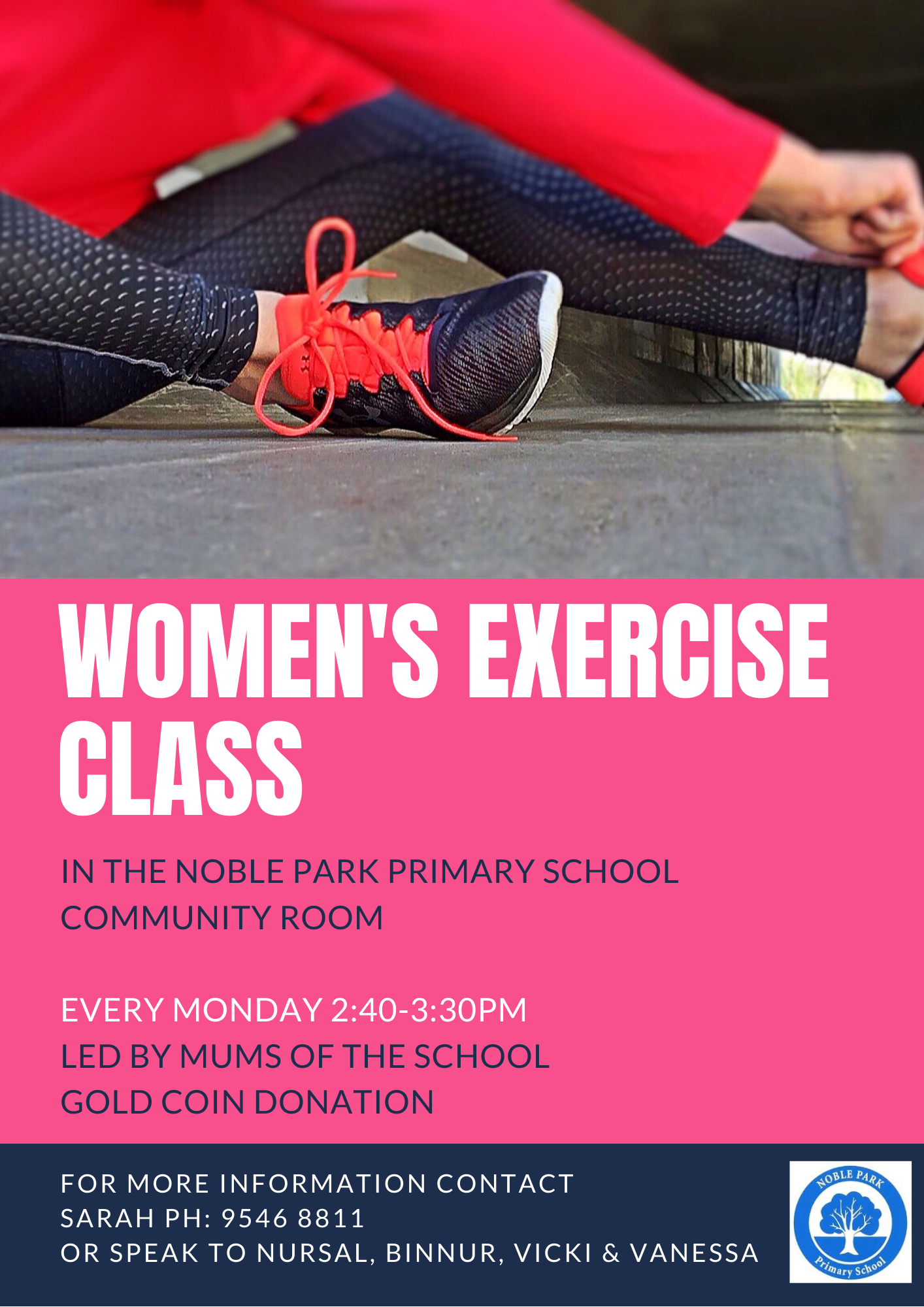 Womens exercise class (1)